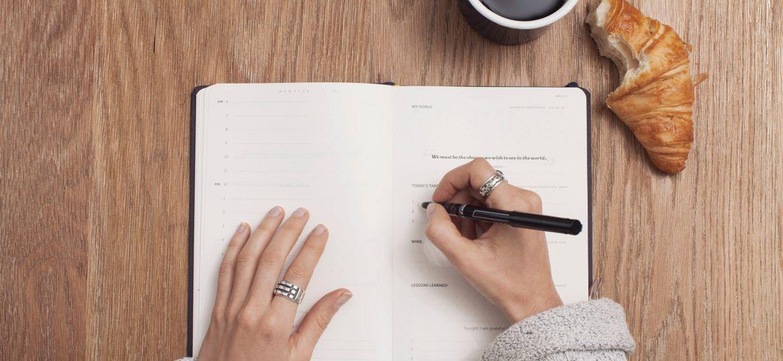 Il Planning ti aiuta ad essere felice grazie ad una organizzazione razionale e serena